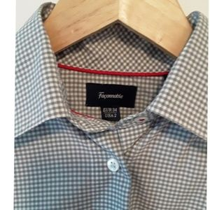 Faconnable Gingham Shirt